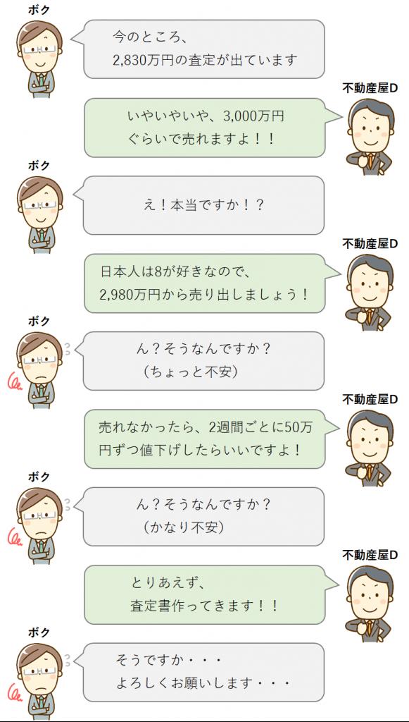 不安な会話